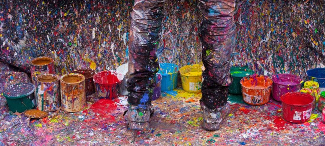 table-mix-colors- oil-paint