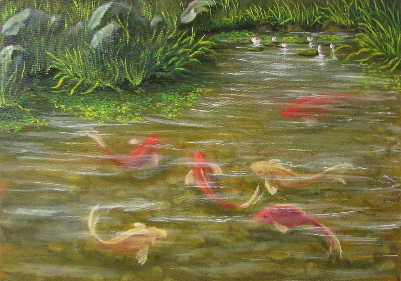 пруд-с-рыбками-кои