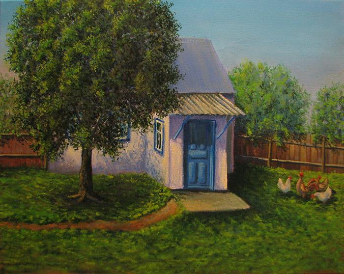 картина бабушкин дом