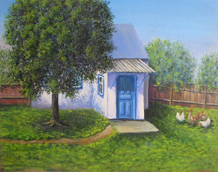 картина бабушкин дом_