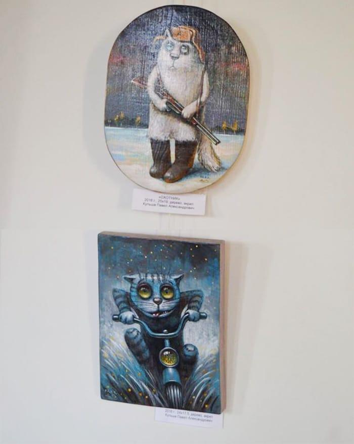 картины на выставке картин солнечная палитра
