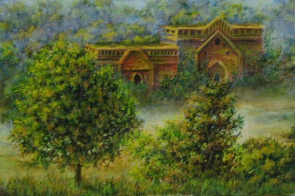 город Баган картина