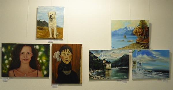 конкурс-выставка художников