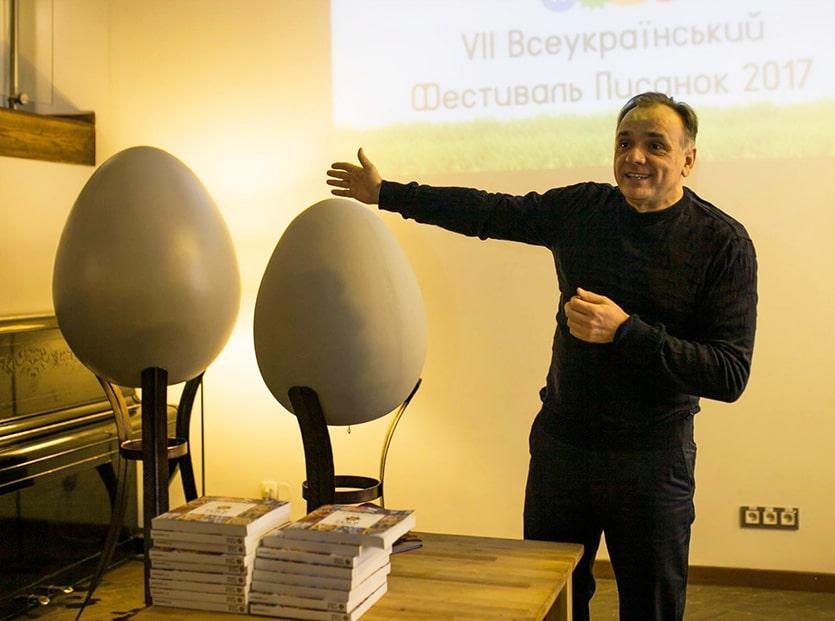 яйца для фестиваля писанок