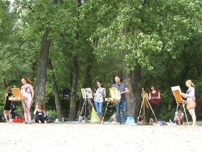 сообщество художников