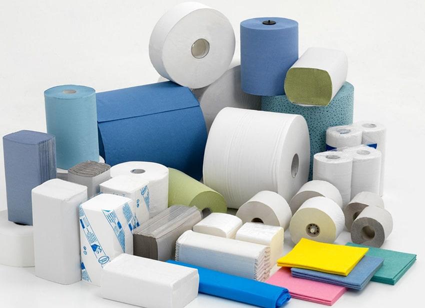 туалетная бумага и салфетки для художников