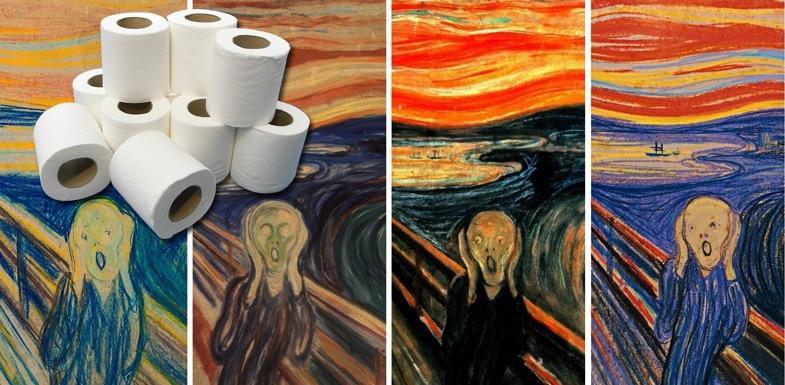 Зачем художники скупают туалетную бумагу